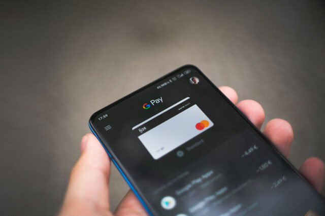 Image of cashless payment
